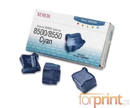 3 ColorSticks Originales, Xerox 108R00669 Cyan ~ 3.000 Paginas
