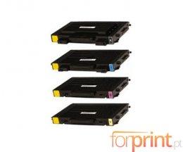 4 Cartuchos de Toneres Compatibles, Xerox 106R0068X Negro + Colores ~ 7.000 / 5.000 Paginas