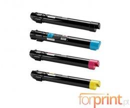 4 Cartuchos de Toneres Compatibles, Xerox 006R0145X Negro + Colores ~ 22.000 / 15.000 Paginas