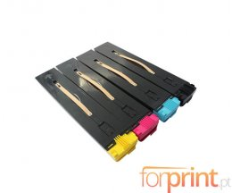 4 Cartuchos de Toneres Compatibles, Xerox 006R014XX Negro + Colores ~ 35.000 / 30.000 Paginas