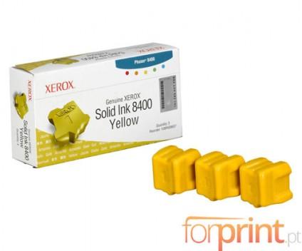 3 Cartuchos de tinta Originales, Xerox 108R00607 Amarillo ~ 3.400 Paginas