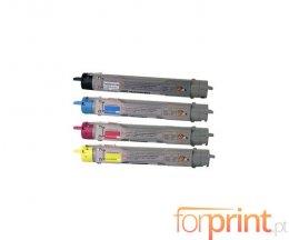 4 Cartuchos de Toneres Compatibles, Xerox 106R0108X Negro + Colores ~ 8.000 Paginas