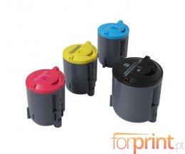 4 Cartuchos de Toneres Compatibles, Xerox 106R0127X Negro + Colores ~ 2.000 / 1.000 Paginas