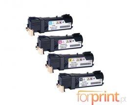 4 Cartuchos de Toneres Compatibles, Xerox 106R0128X Negro + Colores ~ 2.500 / 1.900 paginas
