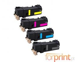 4 Cartuchos de Toneres Compatibles, Xerox 106R0145X Negro + Colores ~ 3.100 / 2.500 Paginas