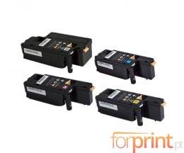 4 Cartuchos de Toneres Compatibles, Xerox 106R0275X Negro + Colores ~ 2.000 / 1.000 Paginas