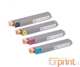 4 Cartuchos de Toneres Compatibles, Xerox 106R0108X Negro + Colores ~ 15.000 / 18.000 Paginas