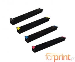 4 Cartuchos de Toneres Compatibles, Sharp MX27 Negro + Colores ~ 18.000 / 15.000 Paginas