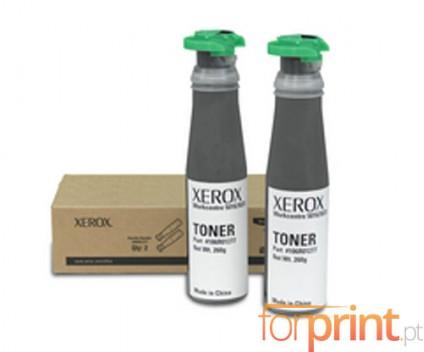 2 Cartuchos de Toneres Originales, Xerox 106R01277 Negro ~ 6.300 Paginas