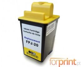 Cartucho de Tinta Compatible Olivetti FJ-20 Negro 20ml