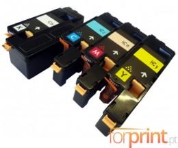 4 Cartuchos de Toneres Compatibles, Xerox 6000 Negro + Colores ~ 2.000 / 1.000 Paginas